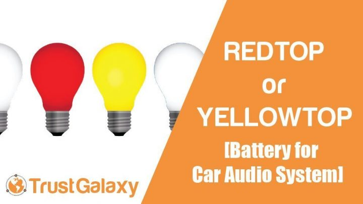 REDTOP or YELLOWTOP Battery for Car Audio System