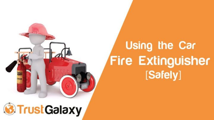 Using the Car Fire Extinguisher Safely